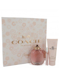Gift Set -- 3 oz Eau De Parfum Spray + .25 oz Mini EDP Spray + 3.3 oz Body Lotion