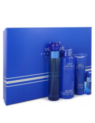 Perry Ellis 360 Very Blue Cologne By Perry Ellis Gift Set For Men
