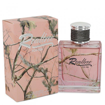 Realtree Perfume By Jordan Outdoor Eau De Parfum Spray For Women 3.4 oz