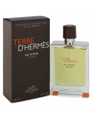 Terre D'hermes Eau Intense Vetiver Cologne By Hermes Eau De Parfum Spray For Men 3.3 oz