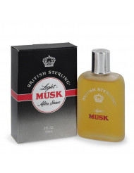 British Sterling Light Musk by Dana After Shave 2 oz