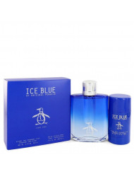 Original Penguin Ice Blue by Original Penguin Gift Set -- 3.4 oz Eau De Toilette Spray + 2.75 oz Deodorant Stick