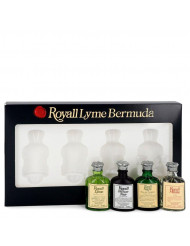 Gift Set -- Modern Classic Travel Set Includes Royall Lyme, Royall Vetiver Noir, Royall Rugby and Royall Muske all in .29 oz travel bottles