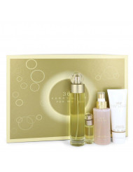 Gift Set -- 3.4 oz Eau De Toilette Spray + 4 oz Body Mist + 3 oz Shower Gel + .25 Mini EDT Spray