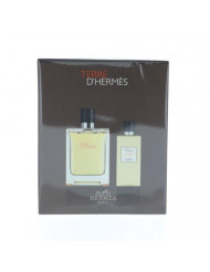 Terre D'Hermes By Hermes 2 Piece Gift Set - 3.3 Oz Eau De Toilette Spray, 2.7 Shower Gel, Men