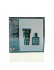 Versace Eros By Versace 2 Piece Gift Set - 1.0 Oz Eau De Toilette Spray , 1.7 Oz Shower Gel, Men