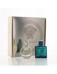Versace Variety Set By Versace 2 Piece Gift Set - 0.17 Oz Eau De Parfum Splash, 0.17 Oz Eau De Toilette Splash, Unisex