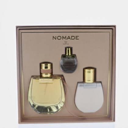 Nomade By Chloe 3 Piece Gift Set - 2.5 Oz Eau De Parfum Spray, 3.4 Oz Body Lotion, 0.17 Oz Mini, Women