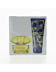 Versace Yellow Diamond Intense By Versace 2 Piece Gift Set - 1.7 Oz Eau De Parfum Spray, 3.4 Oz Body Lotion, Women