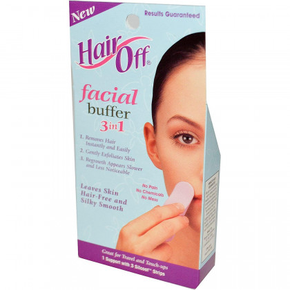 HairOff Facial Buffer 3 Each