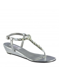 Dyeables Myra - Color - Silver / Size - 9 W