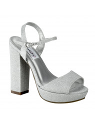 Dyeables Whitta - Color - Silver / Size - 8.5 M
