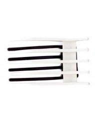 Caravan Topes And Bottom Combine To Create This Black And White Modern Salon Hairpin