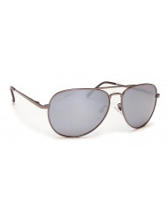 Nickel Silver frame with polarized lenses - Classic II dk silver/gray sil mir