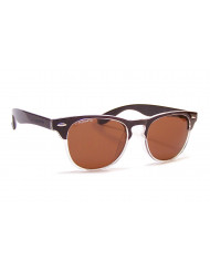 Nylon Frames with Polarized Polycarbonate Lenses - Uptown brn/clr fade/brn