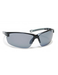 TR-90 Grilamid Nylon Frames with Polarized Polycarbonate Lenses - Napa black/gray silver fm