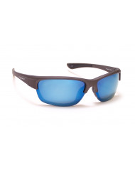 Sport Nylon frames with Polarized lenses - P-31 m. gray/ blue flash mirror