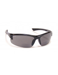 TR-90 Grilamid Nylon Frames with Cast Polymer Reader lens - BP-7 +2.50 black/gray