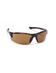 TR-90 Grilamid Nylon Frames with Cast Polymer Reader lens - BP-7 +2.00 tortoise/brown