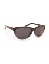 TR-90 Grilamid Nylon Frames with Cast Polymer Reader lens - BP-18 +2.50 black clear fade/gray
