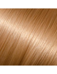 Full Head Human Clip-In 24 (Light Gold Blonde)