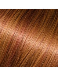 Full Head Human Clip-In 30/33 (Dark Chestnut Auburn)