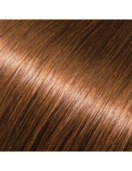 Full Head Human Clip-In 6 (Dark Chestnut Brown)
