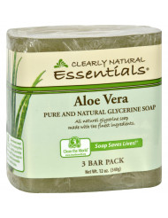 Clearly Natural Bar Soap - Aloe Vera - 3 Pack - 4 oz