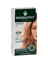 Herbatint Haircolor Kit Copperish Gold 9D - 1 Kit