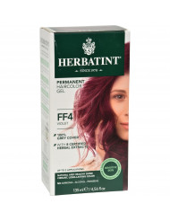 Herbatint Permanent Herbal Haircolour Gel FF4 Violet - 1 Kit