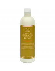 Nubian Heritage Lotion - Olive Butter with Green Tea - 13 fl oz