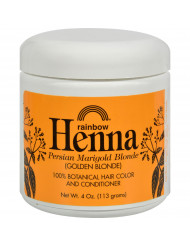 Rainbow Research Henna Hair Color and Conditioner Persian Marigold Blonde Golden Blonde - 4 oz