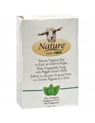 Canus Goats Milk Bar Soap - Fragrance Free - 5 oz