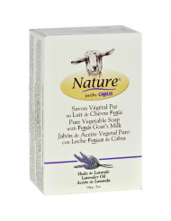 Nature By Canus Bar Soap - Goats Milk - Lavender Oil - 5 oz