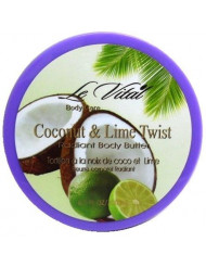 Radiant Body Butter - Coconut and Lime Twist 6.7 oz Case Pack 48