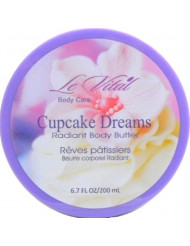 Radiant Body Butter - Cupcake Dreams 6.7 oz Case Pack 48