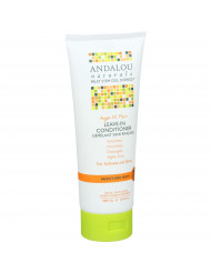 Andalou Naturals Conditioner - Moisture Rich Leave In - Argan Oil Plus - 6.8 oz