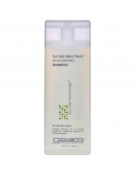 Giovanni Shampoo Tea Tree Triple Treat - 8.5 fl oz
