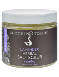 Soothing Touch Salt Scrub - Lavender - 20 oz