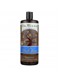 Dr. Woods Naturals Black Soap - Shea Vision - Peppermint - 32 oz