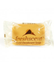 Freshscent Gold Deodorant Soap 5 oz Case Pack 72