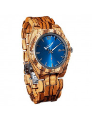 Wilds Mens Wood Watch with Date Display - Minimalist Collection Analog Wooden Wrist Watch with Premium Japanese Quartz Movement - Lightweight, Stylish, Durable - A Gift Suit For Any Occasion