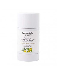 Nourish Organic | Replenishing Beauty Balm - Argan & Sweet Orange | Gmo-Free, Cruelty Free, Usda Certified Organic (1.75Oz)