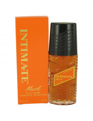 Intimate Musk Perfume by Jean Philippe, 3.6 oz Eau De Cologne Natural Spray