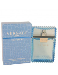 Versace Man Cologne by Versace, 3.4 oz Eau Fraiche Deodorant Spray