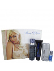 Gift Set -- 3.4 oz Eau De Toilette Spray + 3 oz Body Wash + 2.75 oz Deodorant Stick + .25 Mini EDT Spray