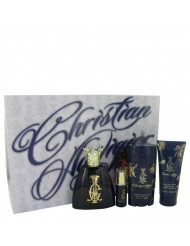 Christian Audigier Cologne, Gift Set - 3.4 oz Eau De Toilette Spray + .25 oz MIN EDT + 3 oz Body Wash + 2.75 Deodorant Stick