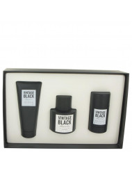 Kenneth Cole Vintage Black by Kenneth Cole,Gift Set -- 3.4 oz Eau De Toilette Spray + 3.4 oz After Shave Balm +2.6 oz Deodorant Stick, For Men