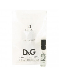 Le Fou 21 Cologne by Dolce & Gabbana, 0.05 oz Vial (Sample)