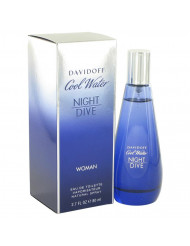 Cool Water Night Dive Perfume by Davidoff, 2.7 oz Eau De Toilette Spray